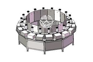 圆盘豆腐压机