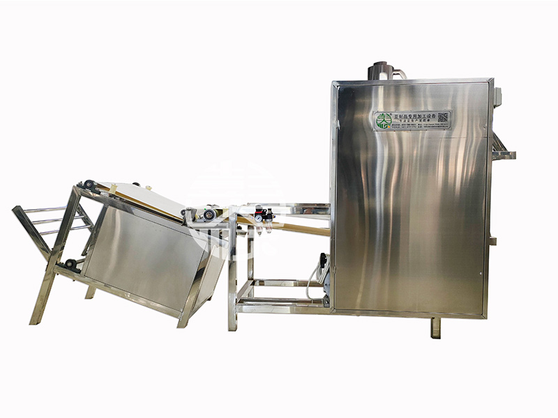 干豆腐机器-自动双剥加叠皮机