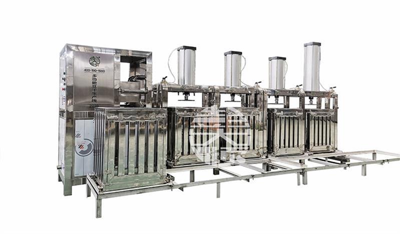 全自动豆干机自动化操作,非常节省劳动力